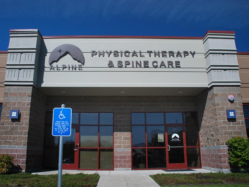 Alpine Physical Therapy westside clinic in Bend, Oregon.