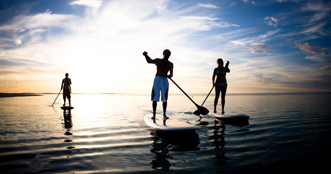 Home Exercise strategies for Stand up Paddleboarding